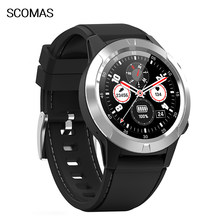 SCOMAS GPS Smart Watch Sport pedometers Message Reminder Bluetooth Outdoor swimmi men compass smartwatch for ios Android phone(China)
