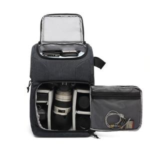 Image 2 - Multi Functionalกระเป๋ากล้องกันน้ำกล้องกระเป๋าเป้สะพายหลังแบบพกพากลางแจ้งถ่ายภาพกระเป๋ากล้องสำหรับCanon Nikon DSLR