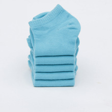5-pair Pack Spring And Summer-Children No-show Socks 3-5 Korean-style Children Men And Women Kids Low Top Socks a Generation of