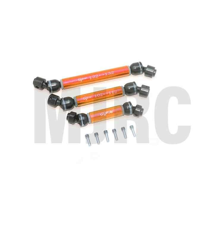 CVD eje de transmisión trasero medio delantero para 1/10 TRAXXAS TRX-6 G63 6X6 88096-4 RC coche mejora piezas de metal eje de transmisión