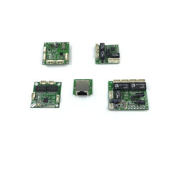 Mini PBCswitch module PBC OEM module mini size 3/4/5 Ports Network Switches Pcb Board mini ethernet switch module 10/100Mbps 1