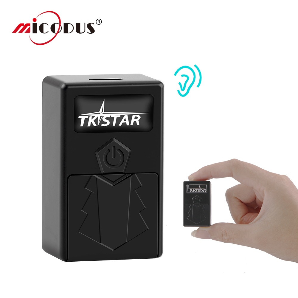 GPS Tracker Super Mini TKSTAR TK921 Car Kids Portable Tracker Voice Monitor Real Time Tracking Device SOS Alarm Free Web APP image
