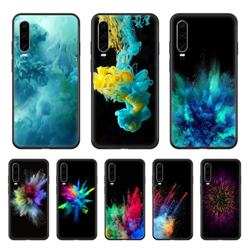 Apple Desktop Same Paragraph Phone case For Huawei P 30 10 20 40 Lite Smart Z Pro 2019 black cell cover soft back 3D shell image