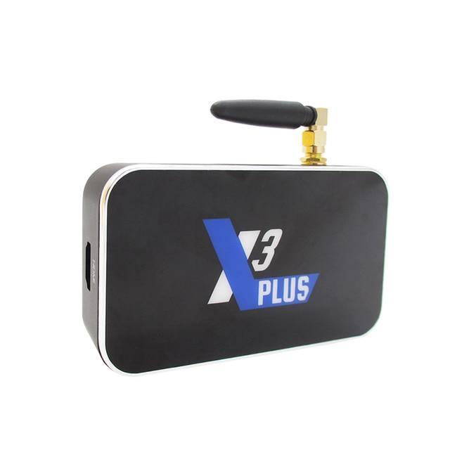 X3 CUBE X3 PLUS Smart Android 9.0 TV Box Amlogic S905X3 2GB 4GB DDR4 16GB 32GB ROM Bluetooth 4K HD X3 PRO upgrade from X2 PRO 4