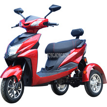 50 км/75 км трехколесный электрический велосипед для пожилых людей, электрический автомобиль мотоцикл вместо того, чтобы ходить 60 V/72 V 32A Батарея