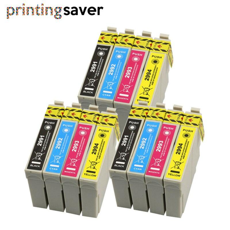 12Pcs 29 29XL T2991 - T2994  Ink Cartridges For XP235 XP247 XP245 XP332 XP335 XP342 XP345 XP435 XP432 XP442 XP445 Printer