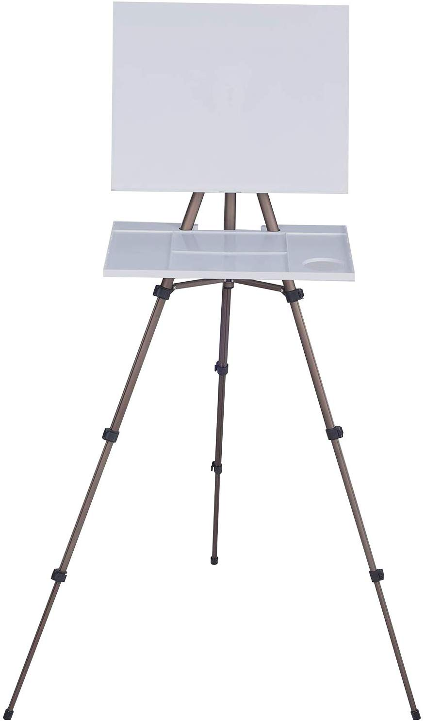 MEEDEN Artist Watercolor Field Easel Portable Easel, Lightweight Field Easel For Watercolors, Sturdy Tripod For Painting