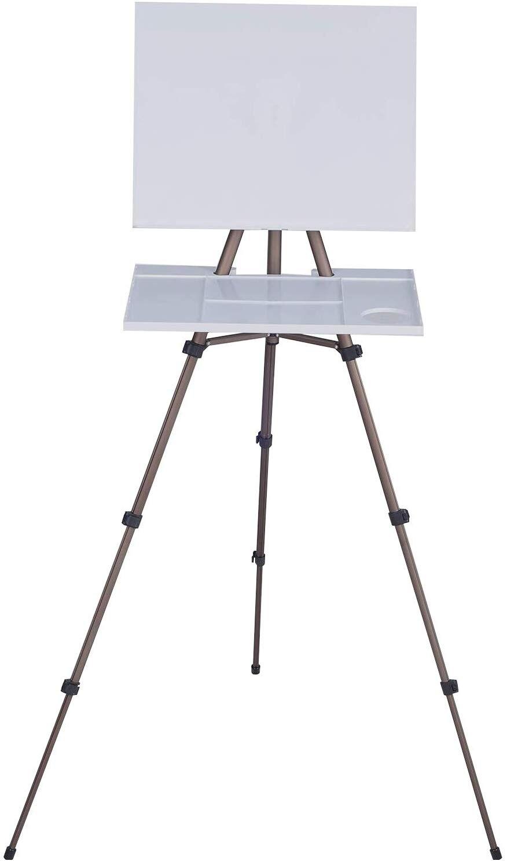 MEEDEN Kunstenaar Aquarel Veld Ezel Draagbare Schildersezel, Lichtgewicht Veld Schildersezel voor Aquarellen, Stevig Statief voor schilderen
