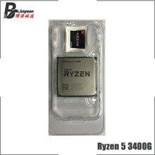 AMD Ryzen 5 3400G R5 3400G 3.7 GHz dört çekirdekli sekiz iplik 65W CPU İşlemci l3 = 4M YD3400C5M4MFH soket AM4 yeni ama hiçbir fan