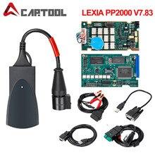 Dla Lexia 3 PP2000 Diagbox 7.83 pełny Chip 921815C dla Lexia3 dla Citroen dla Peugeot narzędzie diagnostyczne PSA XS Evolution