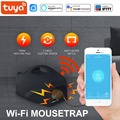 Tuya sem fio rato assassino mousetrap rato pragas armadilha coletor roedor assassino wifi sensor de controle app para o telefone móvel smartlife app