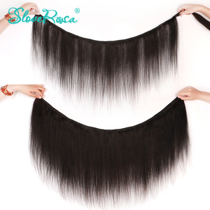 Image 5 - 150% Density Straight 360 Lace Frontal Human Hair Wigs For Black Women Brazilian Remy Hair Bleached Knots Pre Plucked SloveRosa