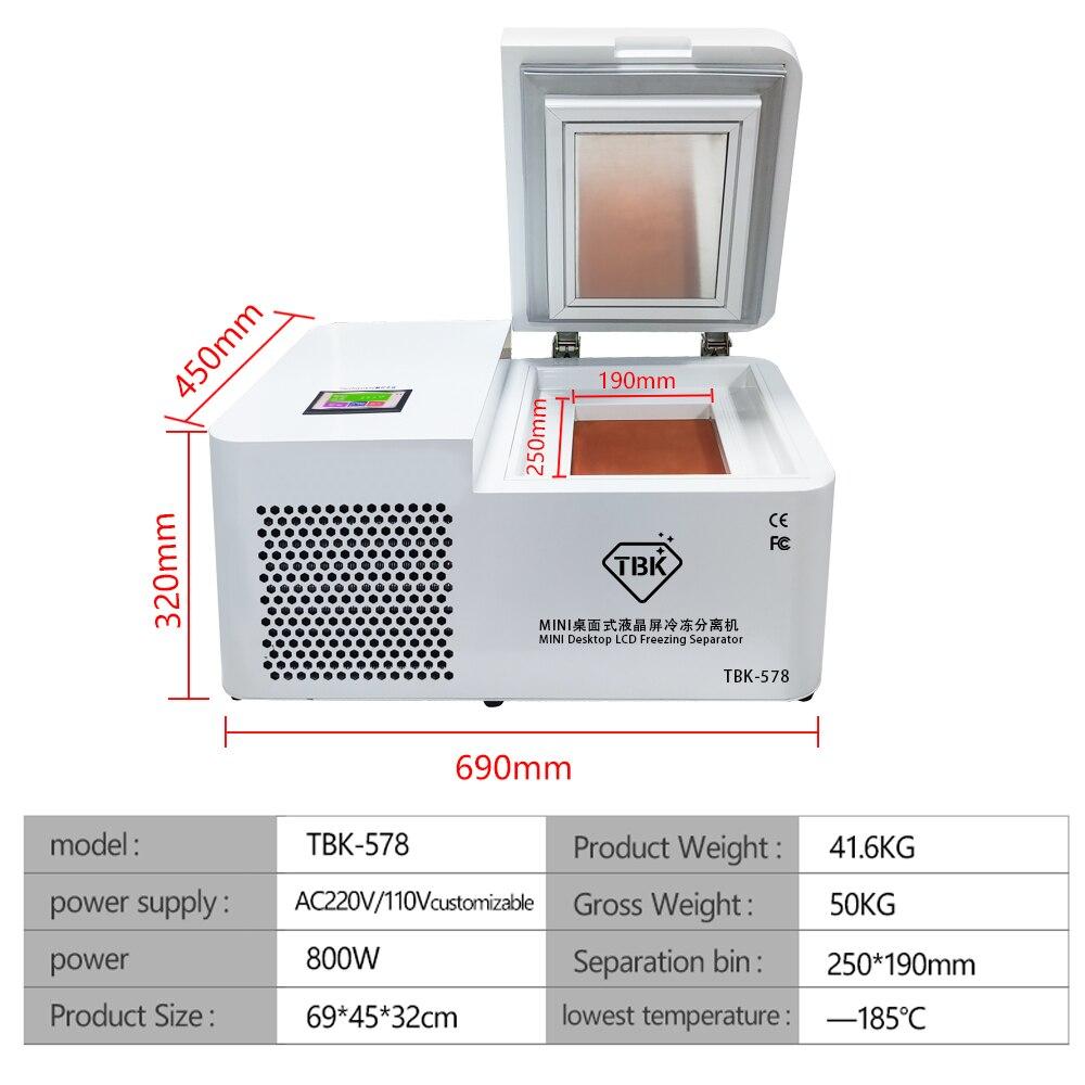 TBK-578 Frozen Separating Machine For Smartphone LCD Repair 1