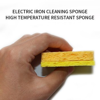 5/10/20/50Pcs Enduring Electric Welding Soldering Iron Cleaning Sponge Solder Tip Cleaning Sponge yellow Sponge for Iron Tips image