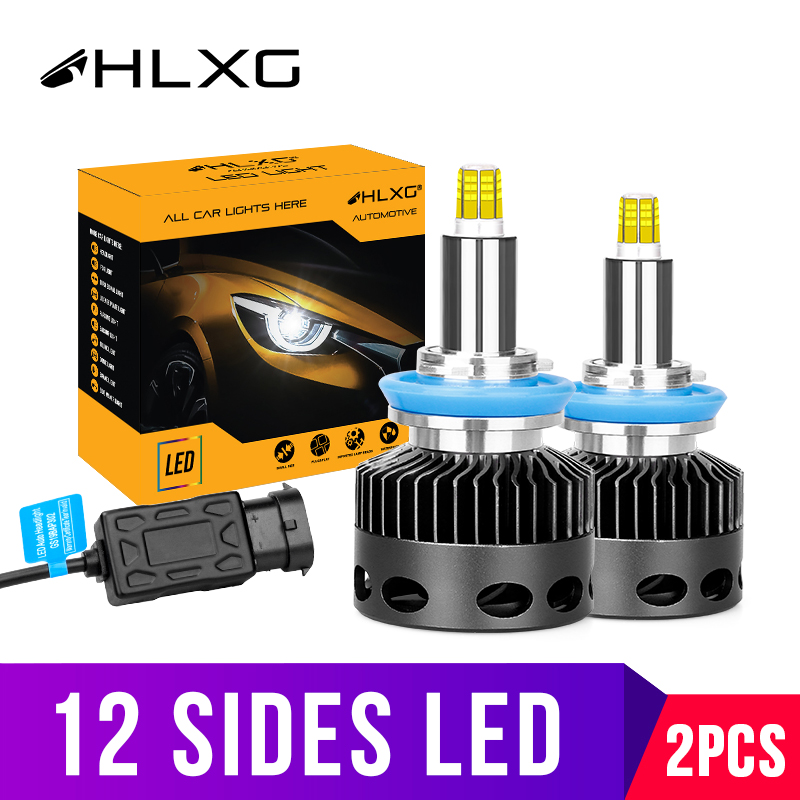 3D лампа D2S D1S D3S D4S 30000LM CSP H11 H7 Led 360 яркие автомобильные лампы, лампы H8 H1 HB3 HB4 9005 9006 Противотуманные фары автомобиля Авто 12v D2H hlxg