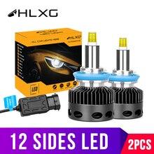 Lampada 3D D2S D1S D3S D4S 30000LM CSP H11 H7 Led 360 lampadine per fari Auto H8 H1 HB3 HB4 9005 9006 fendinebbia Auto 12v D2H hlxg