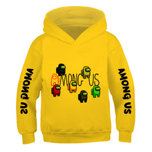 Anime Sweatshirt Hooded Amoung Boys Pullover Girls Impostor Children's Fashion Kawaii