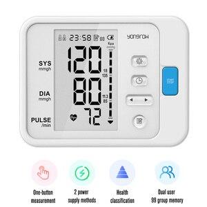 Image 5 - Yonker OLED אצבע דופק Oximeter & LCD זרוע לחץ דם צג & תינוק אינפרא אדום מדחום משפחת בריאות מתנה