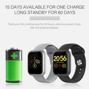 Image 3 - 2020 ساعة ذكية الرجال النساء معدل ضربات القلب 15 أيام الاستعداد مقاوم للماء Smartwatch آيفون أندرويد PK Iwo13 12 9 8 الساعات الذكية