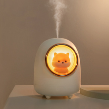 Cat-Air-Humidifier Diffuser Mini USB with Night-Lights for Bedroom 350ML Usb-Mist-Maker
