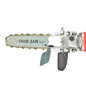 Image 2 - Модернизированный Кронштейн для электрической цепной пилы 11,5 дюйма, регулируемая универсальная цепная пила M10/M14/M16, угловая шлифовальная машина для цепной пилы