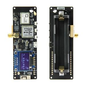 TTGO T-Beam ESP32 433/868/915 МГц WiFi беспроводной Bluetooth модуль ESP 32 GPS NEO-6M SMA LORA 32 18650 Держатель батареи с OLED