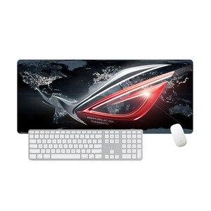 Image 2 - Grote Mousepad Asus Antislip Rubber Republiek Gamers Gaming Muismat Laptop Notebook Desk Mat Voor Csgo Dota toetsenbord Pad