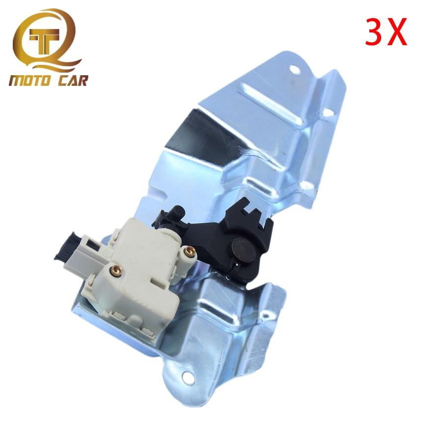 1J5827425A 3B5827061B Car Bootlid Trunk Lock Actuator Motor Switch Set 1J5827425C 7L6959781 3B0959781C For VW Bora Golf