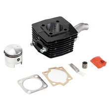 80cc 40 мм поршневой штифт двигателя набор подходит для моторизованный двигатель велосипеда черный