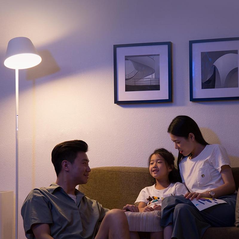 Xiaomi mijia yeelight ylld01yl 12 w inteligente pode ser escurecido conduziu a lâmpada de assoalho mesa pé luz wifi controle app casa escritório AC100 240V - 6
