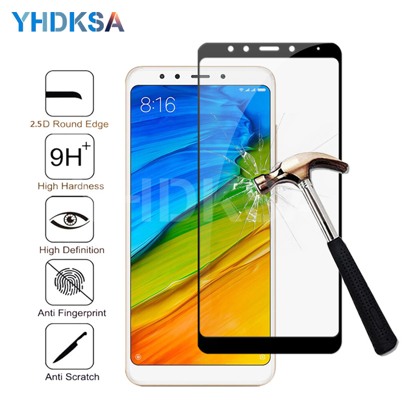 9D Protective Glass On The For Xiaomi Redmi 5 Plus 5A S2 K20 Tempered Screen Protector For Redmi 4 Pro 4X 4A Glass Film Case
