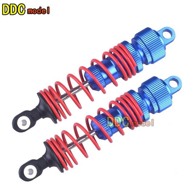 Remo Hobby 1025 1021 8066 8065 8025 1/10 Rc Car Spare Upgrade Onderdelen Metalen Rear Front Legering Olie Fillde ultra Schokken A2022 A2049