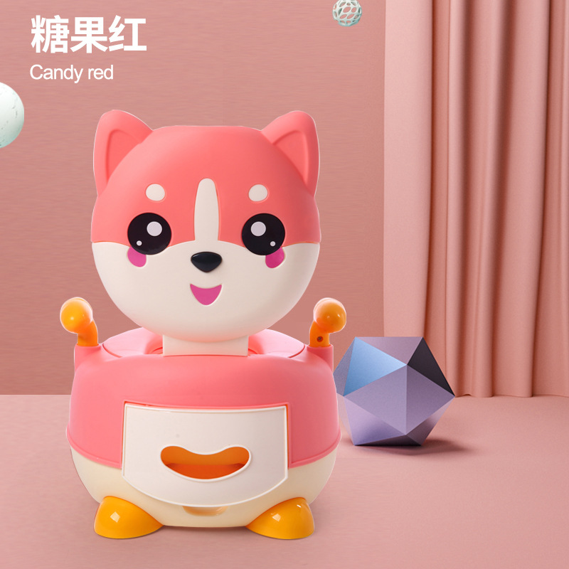 Toilet For Kids Portable Closestool Infants Small Chamber Pot Girl'S Toilet Male Baby Urinal Urinal Pu Dian