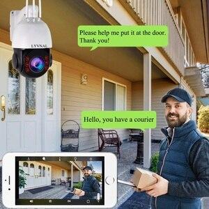 Image 2 - لايفنال H.265 1080P 3G 4G بطاقة SIM كاميرا 2MP اللاسلكية PTZ IP كاميرا واي فاي سرعة قبة في الهواء الطلق 20X التكبير SD فتحة للبطاقات اتجاهين الصوت