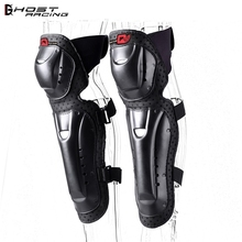 GHOST RACING Sports Knee Elbow Pads  Motorcycle Knee Protector Moto Protective Gear Motorbike Riding Racing Knee Elbow Support scoyco 1set motorcycle protection racing knee and elbow pads protector guards moto motorbike motocross riding protective gear