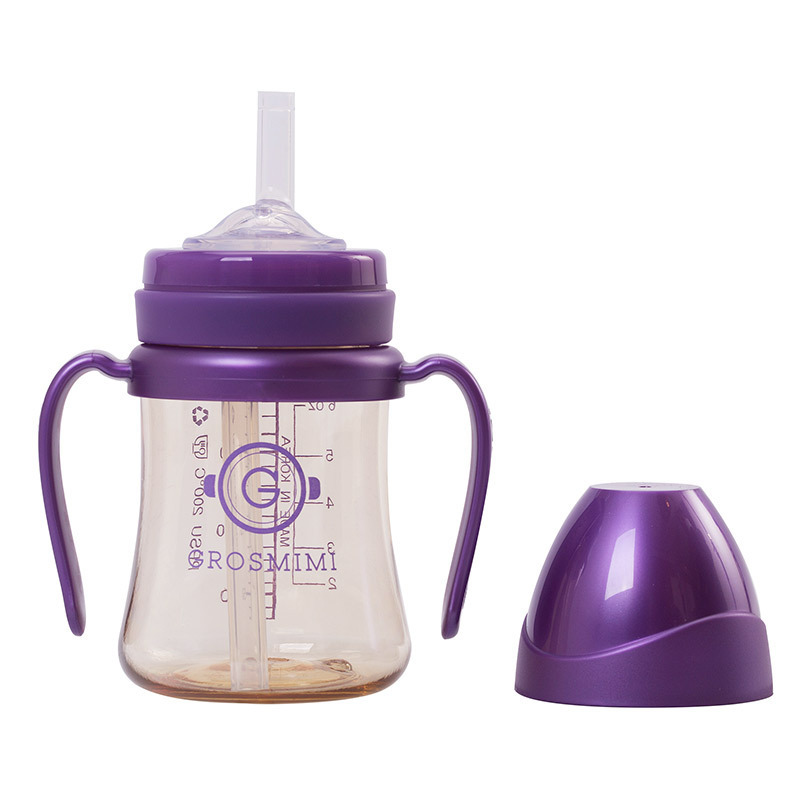 Gro Mimi Groimi South Korea Cup With Straw Learn Drinking Cup 200ml300ml