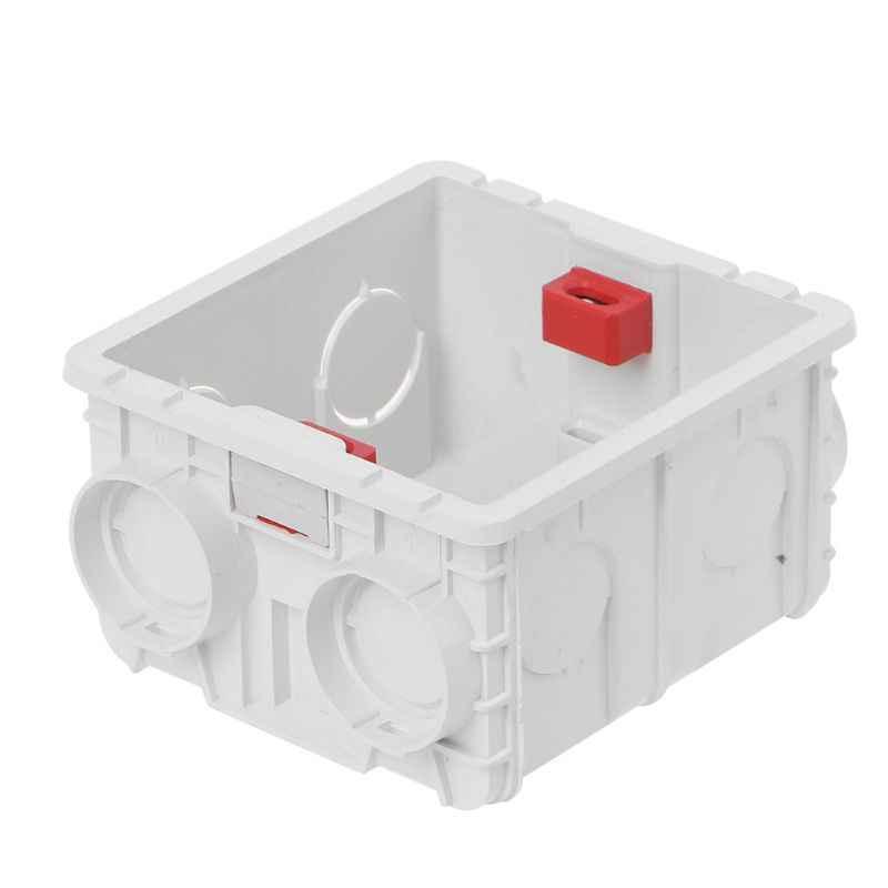 Cassette murale de boîte de jonction en PVC de Type 86 pour socle de prise de courant