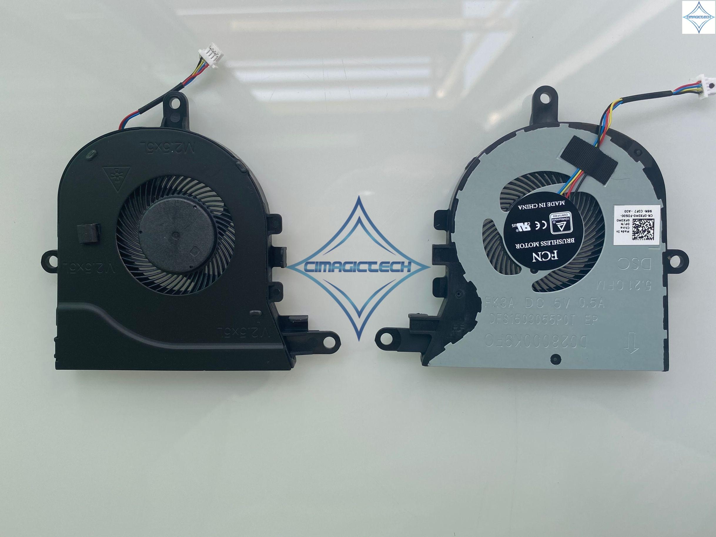 Novo Original para Dell Latitude inspiron 3590 L3590 E3590 15 5570 5575 FX0M0 0FX0M0 FXDFS1503055P0T FK3A laptop ventilador de refrigeração da cpu