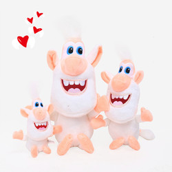 Russian cartoon Booba Buba toy plush soft cotton doll adsorption action character model children's toys best gift