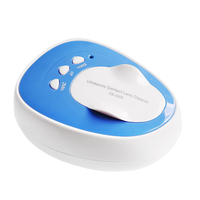 Mini Rechargeable Ultrasonic Cleaner Contact Lens Cleaner for Contact Lenses Auto Ultrasound Clean Fast Vibration
