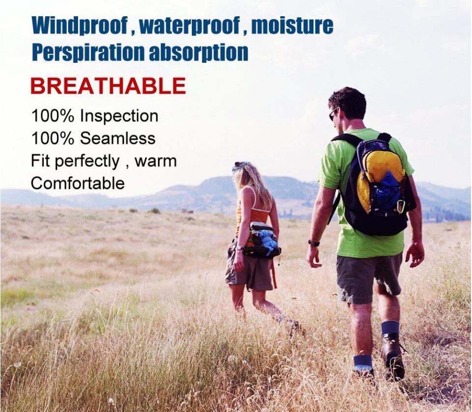 à prova de vento caminhadas esportes ao ar livre meias