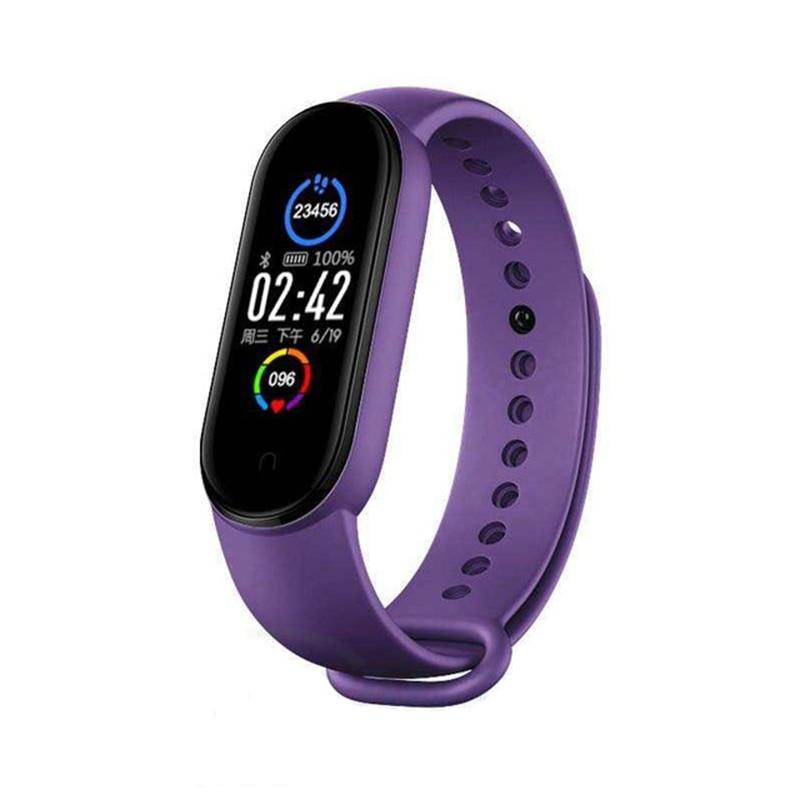 2020 New M5 Smart Band Fitness Tracker Smart Bracelet Smart Watch Sport Heart Rate Blood Pressure Monitor Health Smartband