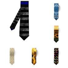 Новинки! Прямые на каблуке высотой 8 см мужские галстуки инновационный