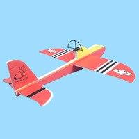 Ручной конденсатор, электрический бумажный самолет, перезаряжаемая Игрушечная модель для детей, пенопластовая Резиновая лента, устойчивый...