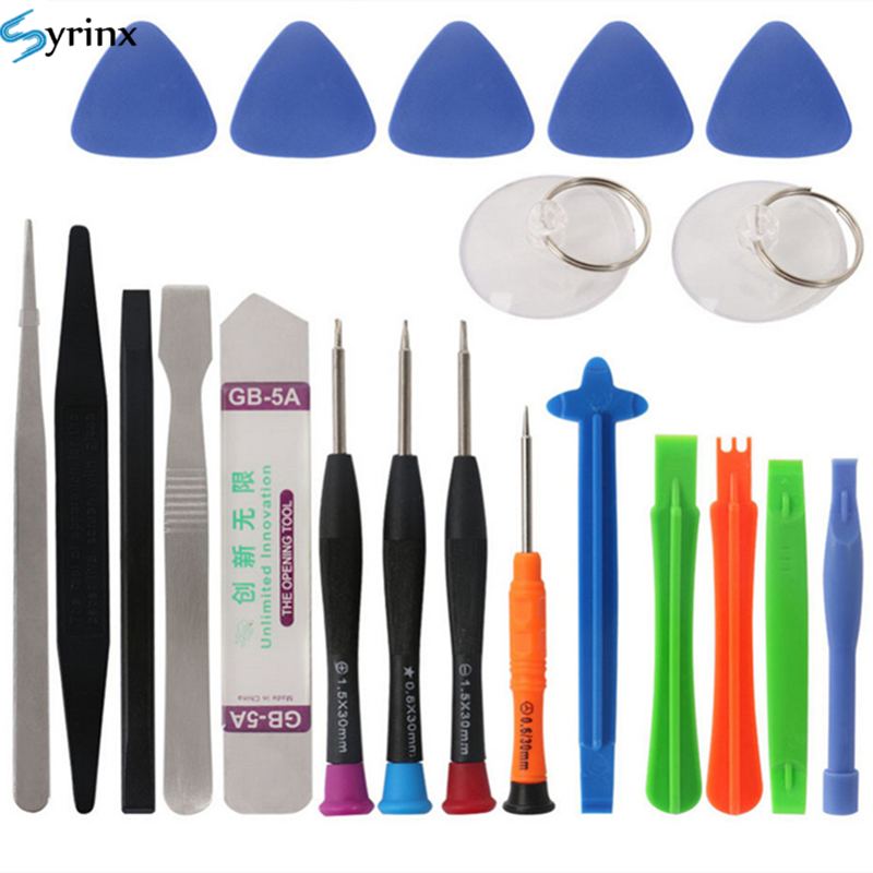 21 in 1 Mobile Phone Repair Tools Kit Spudger Pry Opening Tool Screwdriver Set for iPhone X 8 7 6S 6 Plus 11 Pro XS Hand Tools(China)