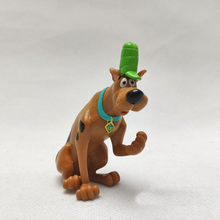 Cartoon Scooby-doo Mummy Museum Stery Dog Action Figure Doll Pvc Model Kids Collection Gift  Toy недорого