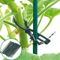 50 шт. многоразовые садовые кабельные стяжки для растений, поддержка кустарников, пластиковая Блокировка дерева, садовые инструменты, Садов...