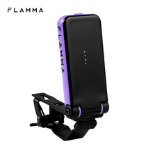 FLAMMA FT01 Clip-on Tuner for Electric Acoustic Guitar Bass Ukeleles All Instruments Christmas Gift