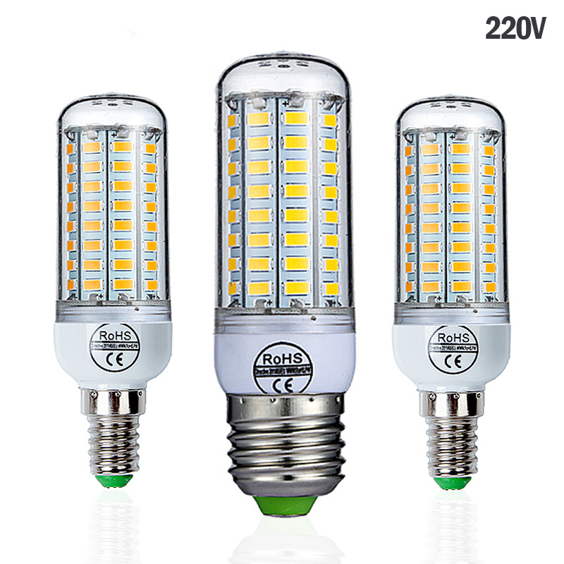 Светодиодная лампа Goodland E27/Е14, SMD 5730, 24/36/48/56/69/72 светодиода