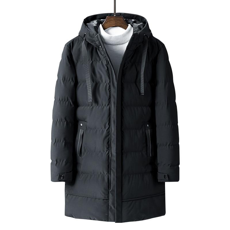 Varsanol New Parkas Men Long Cotton Winter Jacket Coat For Men Brand Warm Jacket Thick Parka Homme Tops -20 Degree